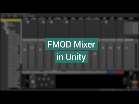 FMOD Mixer in Unity (FMOD + Unity Tutorial)